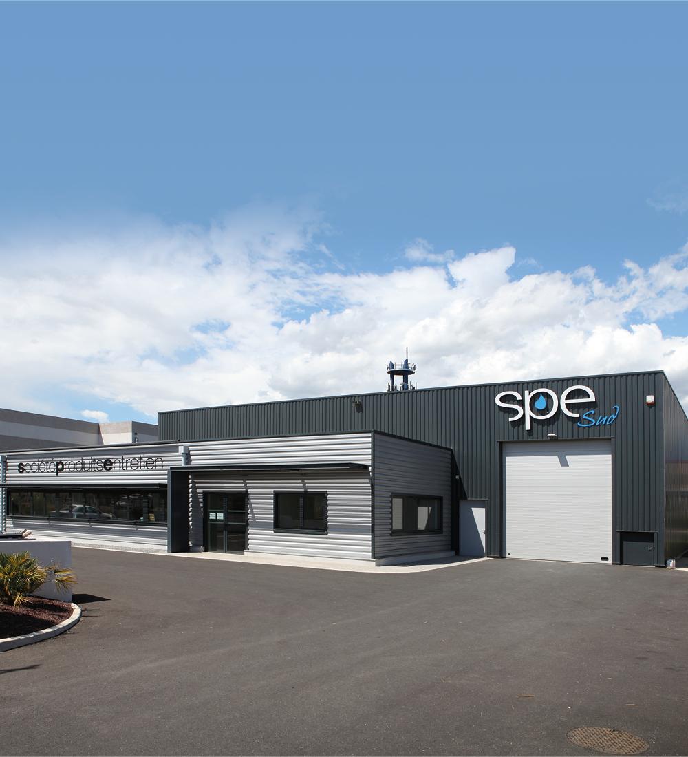 SPE - entrepôt réalisation d'un entrepôt et de bureaux à Narbonne - Bâtiment industriel