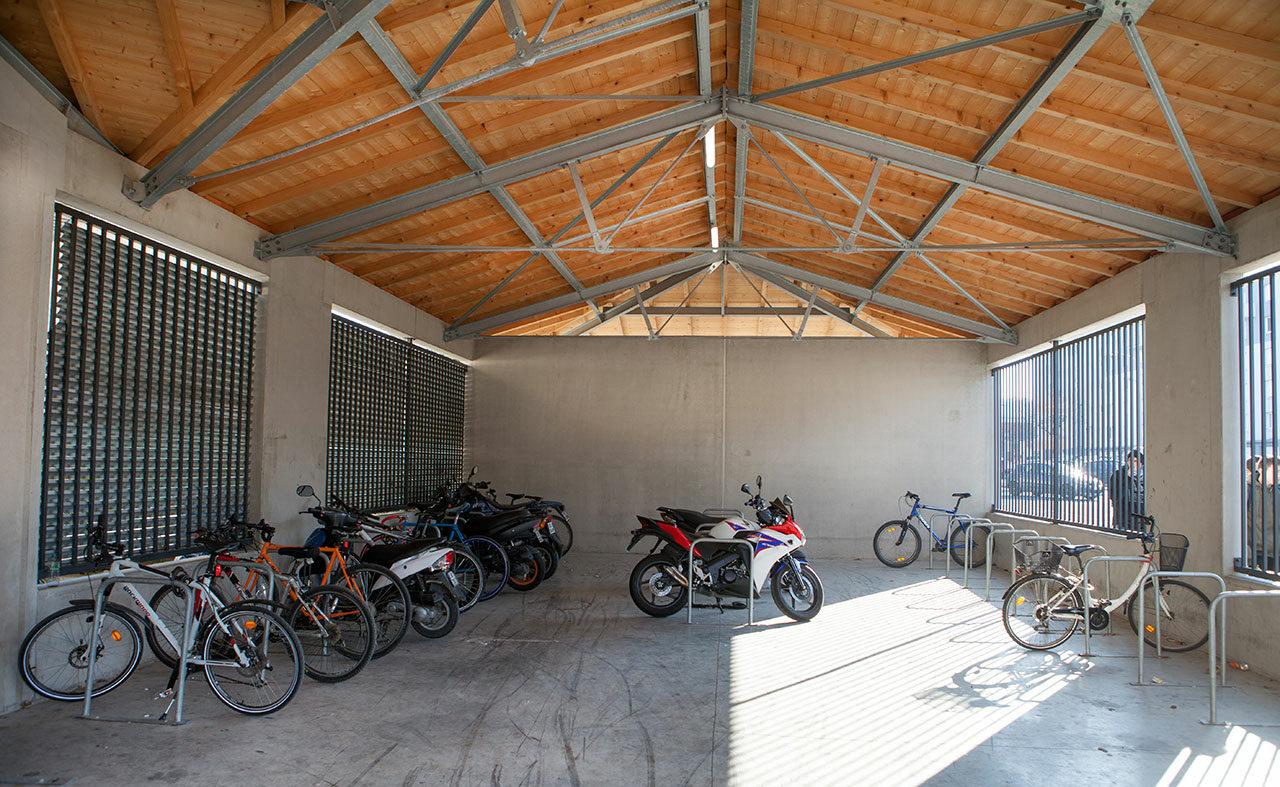 Lycée Jules Fil construction de la nouvelle entrée et du restaurant scolaire du lycée jules fil à Carcassonne (11)