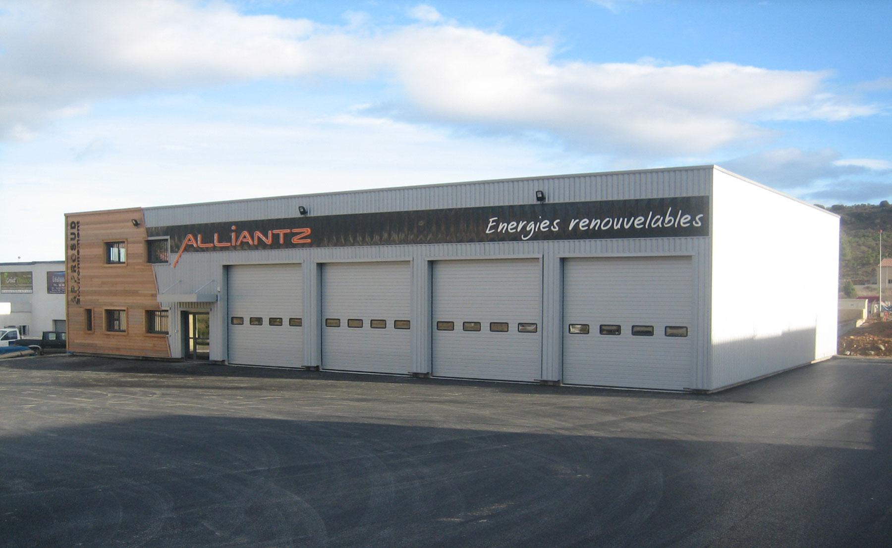 Entrepôt Alliantz - Bâtiment industriel