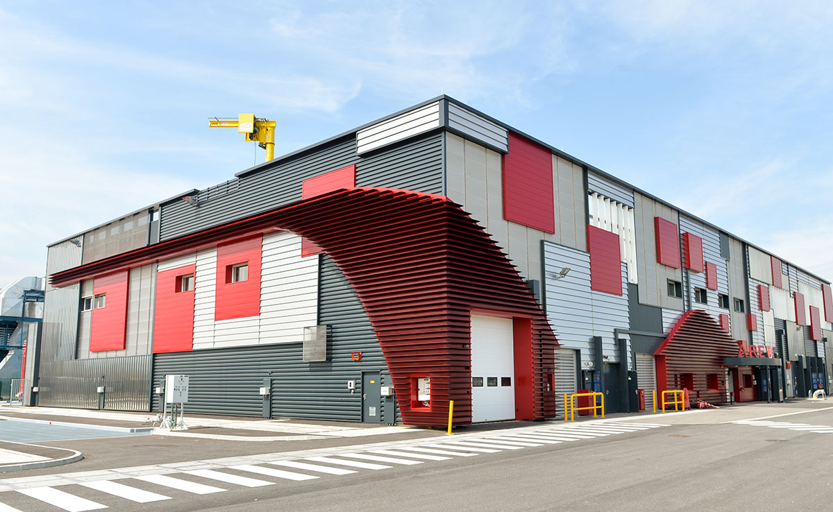 AREVA - Bâtiment industriel