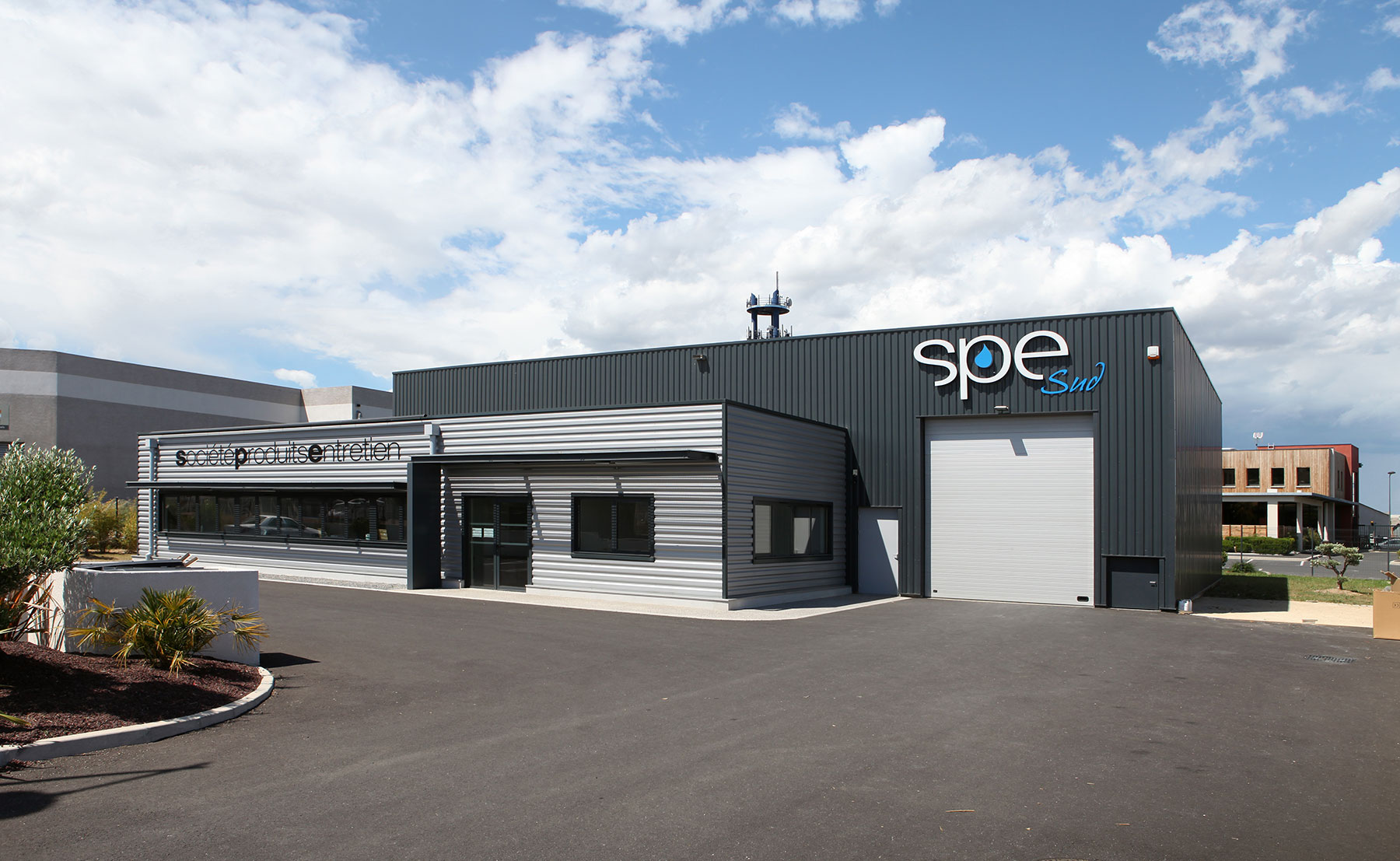 entrepôt SPE - Bâtiment industriel