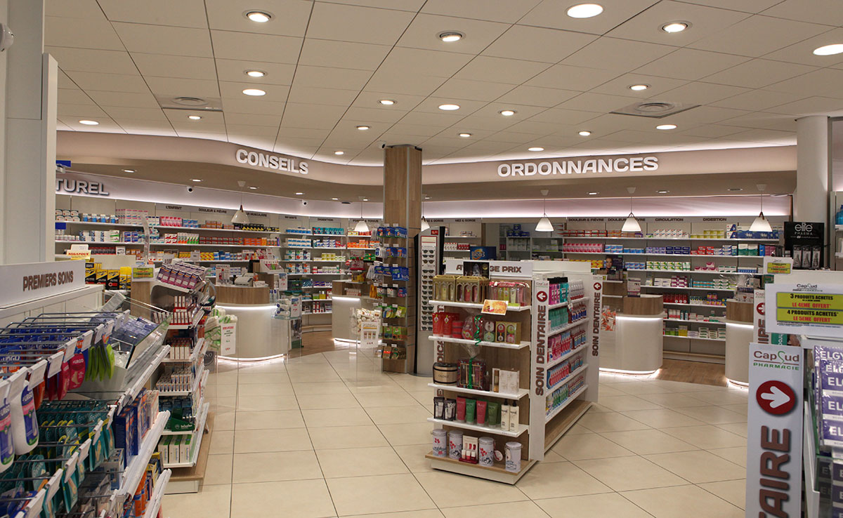 Comptoir pharmacie Cap Sud
