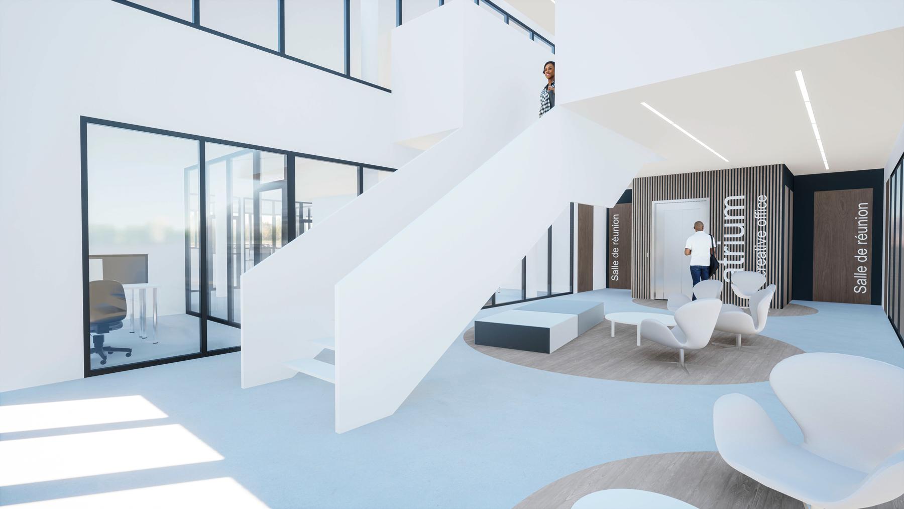 Atrium Creative Office à Narbonne, Pro2 Architecteurs Promotion