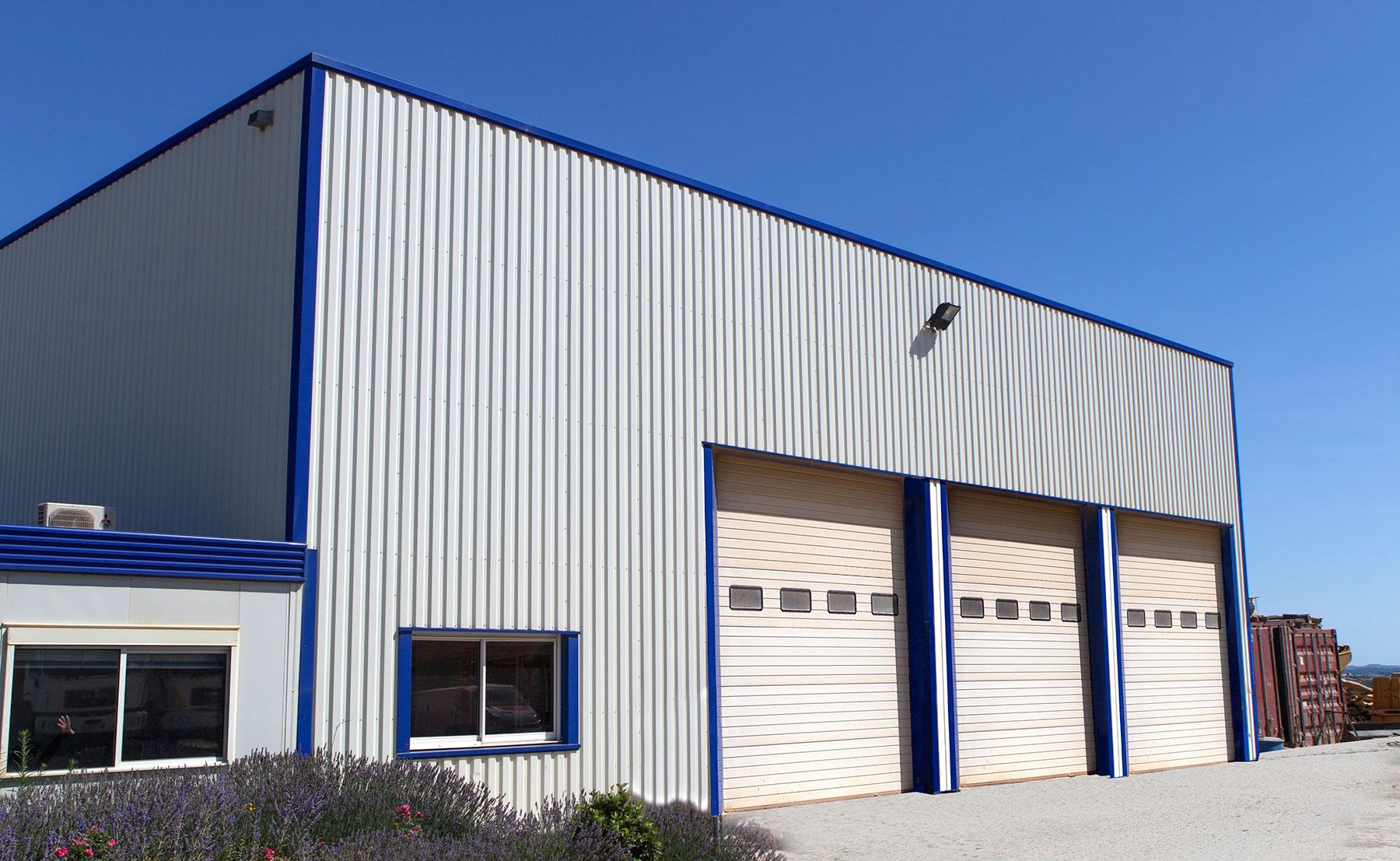 Agri TP - Bâtiment industriel, entrepôt
