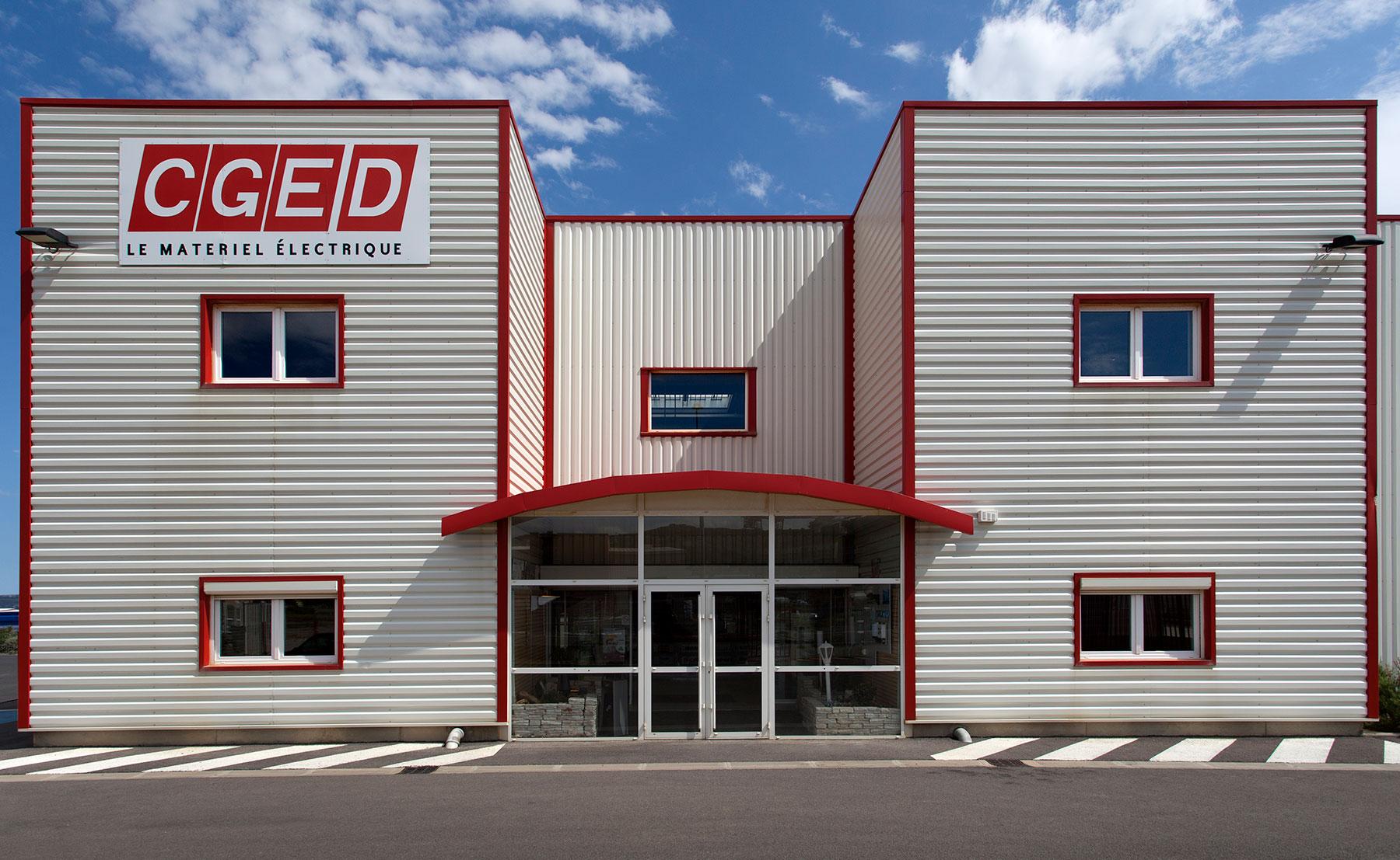 CGED - Bâtiment industriel, entrepôt