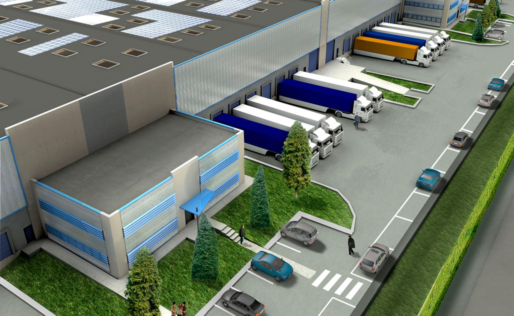 PORTE DE NARBONNE - Bâtiment industriel, entrepôt