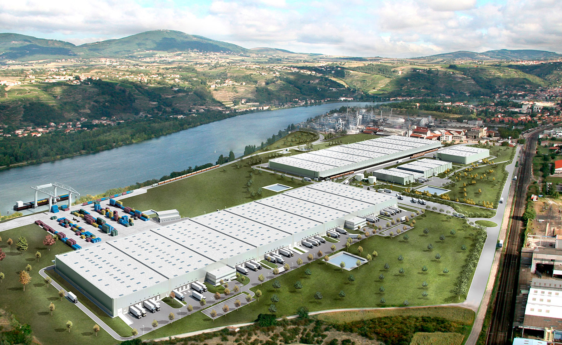 Tourmaline - Bâtiment industriel