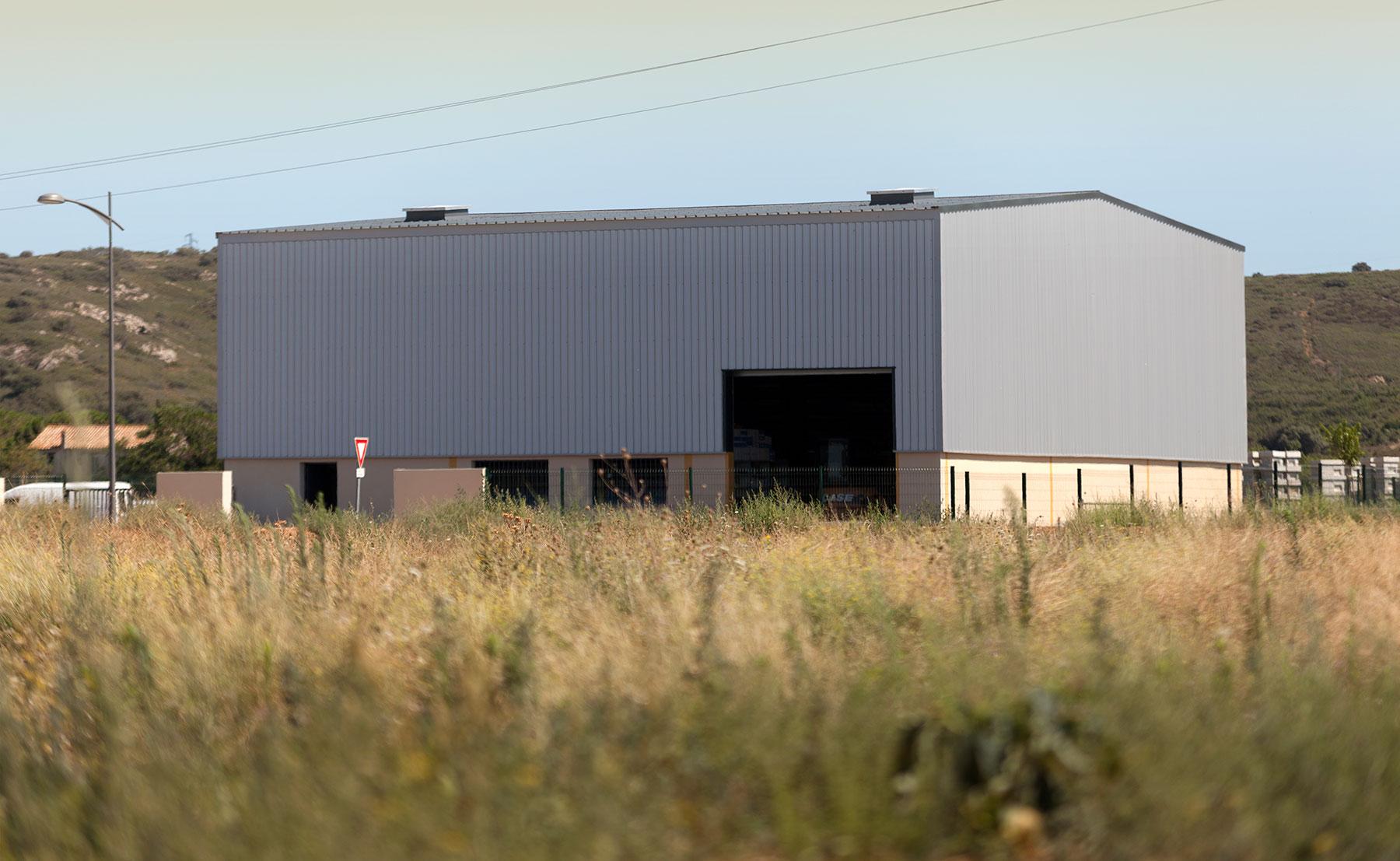 Usin'OC - Bâtiment industriel, entrepôt