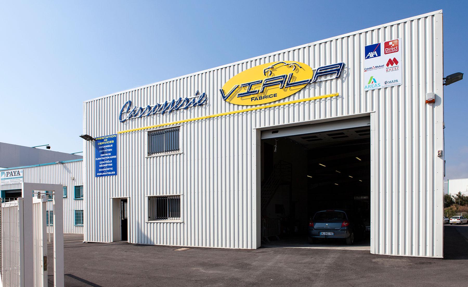 CARROSSERIE VIALA - Bâtiment industriel, entrepôt