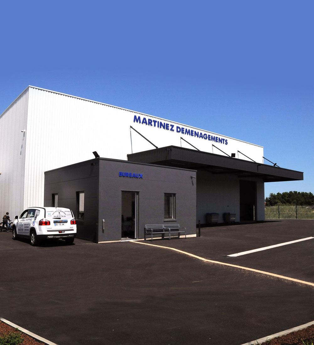 Martinez Déménagement - Bâtiment industriel, entrepôt